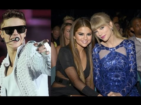 Selena Gomez and Taylor Swift Fighting Over Justin Bieber?!