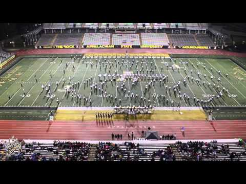 Appalachian Marching Band Festival Performance