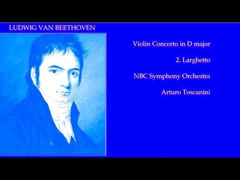 JASCHA HEIFETZ L. van BEETHOVEN VIOLIN CONCERTO in D II.