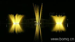 EXPO Antalya music fountain in Turkey