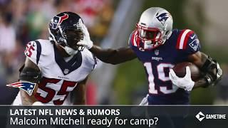 NFL News & Rumors: Julian Edelman Appeal, Malcolm Mitchell Update, Randall Cobb Ready For Week 1