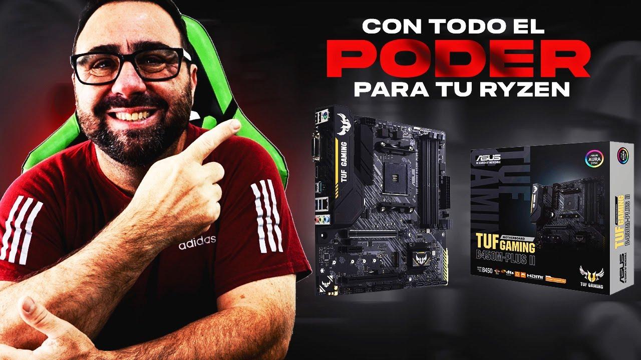 Download Asus TUF GAMING B450M PLUS II -  Con todo el Poder para Tu Ryzen