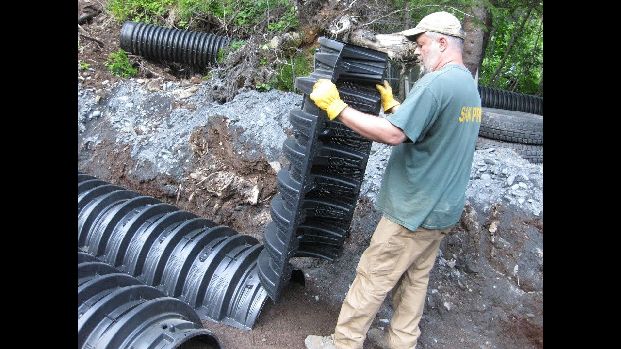 Homeowners Install Infiltrator Septic System In Alaska