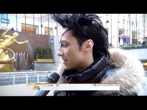 Johnny Weir, Dirty Love, Today show