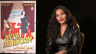 Sarita Choudhury valora el estreno de 'Nieva en Benidorm' en plena pandemia