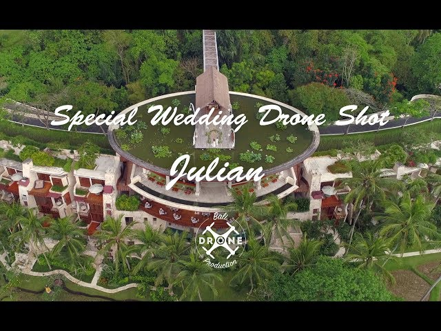 Special Wedding Drone shot - Julian wedding - 4k