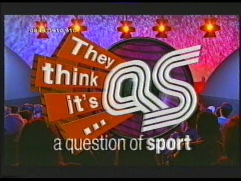 They Think It's A Question Of Sport - 2002 Sport Relief Special