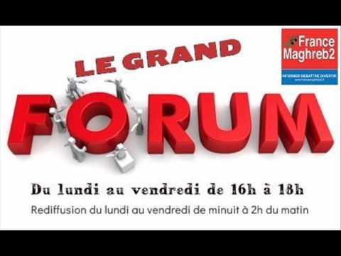 France Maghreb 2 - Le Grand Forum le 12/06/17 : Nadiya Lazzouni et Jean-Marc Zebelus