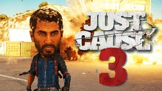Just Cause 3 - Random Moments #5 (Funny Bugs & Glitches, Oh Deer!)