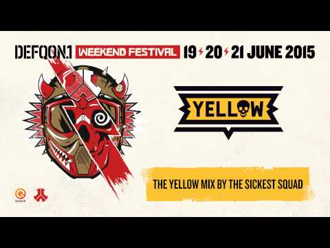 The colors of Defqon.1 2015 | YELLOW mix by The Sickest Squad