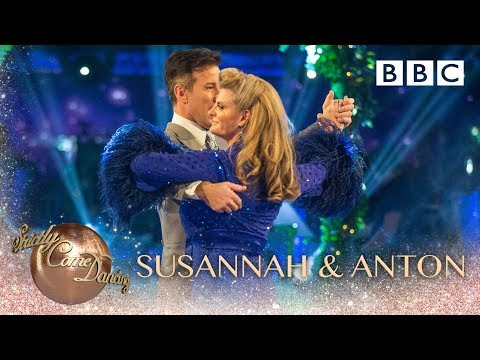 Susannah Constantine & Anton Du Beke Foxtrot to 'They Can't Take That Away' - BBC Strictly 2018
