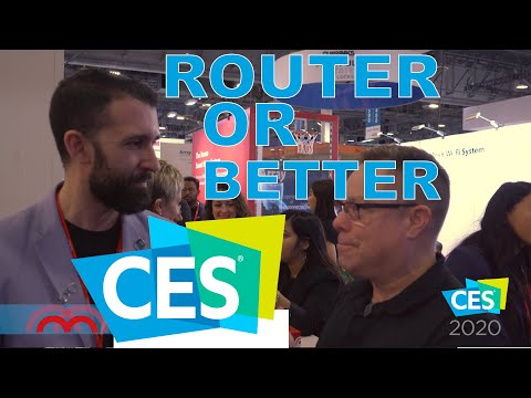 Mercku WiFi Routers CES 2020 Las Vegas Talking About WiFi Hive
