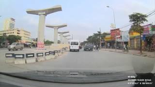 Toàn cảnh tuyến đường sắt Metro Nhổn-Ga Hà Nội | BAO GIỜ MỚI CÓ TÀU ĐI ĐÂY ? | Ha Noi Urban Rail way