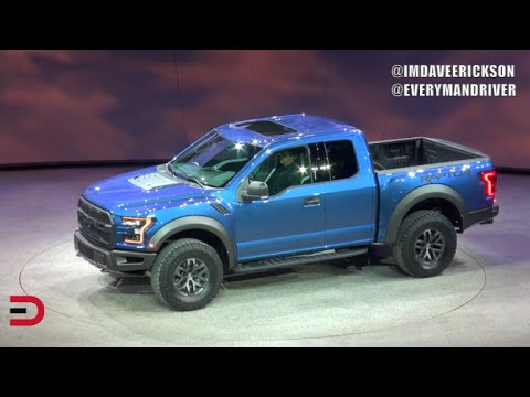 Detroit Debut: 2017 Ford F-150 Raptor on Everyman Driver