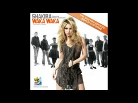 Shakira   Waka waka  mix spanish & english version