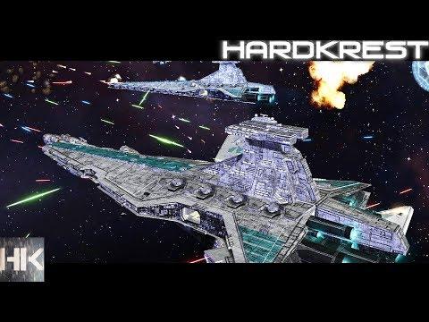Star Wars: Empire At War: FoC - Absolute Chaos Mod - Схватка - Hardcore - Империя =1= Блокада Набу