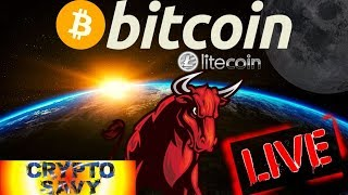👀Crypto Savy Live Stream👀bitcoin litecoin price prediction, analysis, news, trading