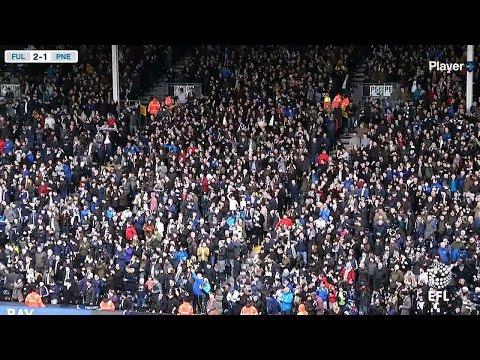Fulham 3 PNE 1, Saturday 4th March 2017, Sky Bet Championship