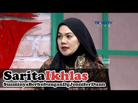 SARITA Ikhlas Suaminya Berhubungan dengan JENNIFER DUNN - Rumpi 10 Juli 2017