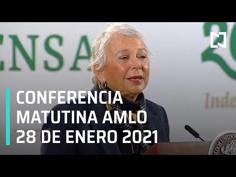 Conferencia matutina AMLO / 28 de enero 2021