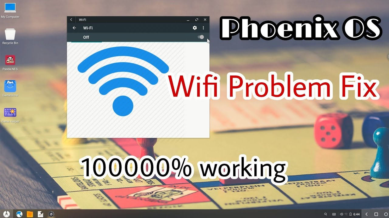 Phoenix os Wifi Problem Fix 10000% | How to connect wifi/internet on  phoenix os via Mobile