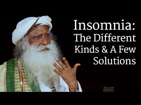 Insomnia: The Different Kinds & A Few Solutions  Sadhguru
