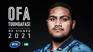 Ofa signs to 2021 with NZ Rugby and Blues
