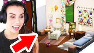 🏠 Build-a-House (Shared Children's Bedroom) The Sims 4