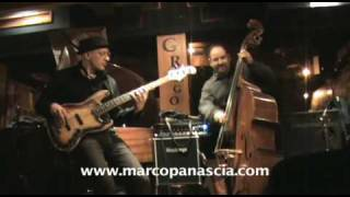 Marco Panascia & Dario Deidda Jazz Bass Duo: Rhythm Changes Thelonious Monk