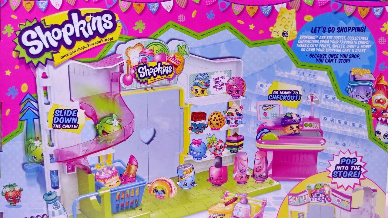 Shopkins Small Mart Playset Shopkins Toys For Kids