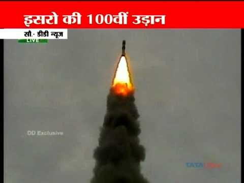 isro-launches-100th-mission;-pm-witnesses-historic-event