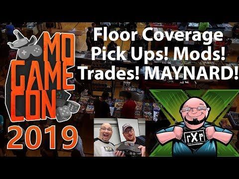 Missouri Game Con 2019 Floor Coverage - Pick Ups, Panels, Imports, & Mr. Maynard!