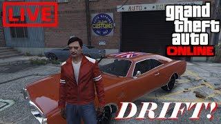 GTA 5 ONLINE - Treinando e testando carros para drift... Ps4