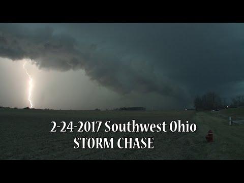 2 24 2017 Southwest Ohio STORM CHASE