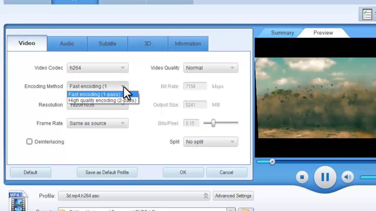 How to rip Blu-ray 3D to SBS 3D with DVDFab 9
