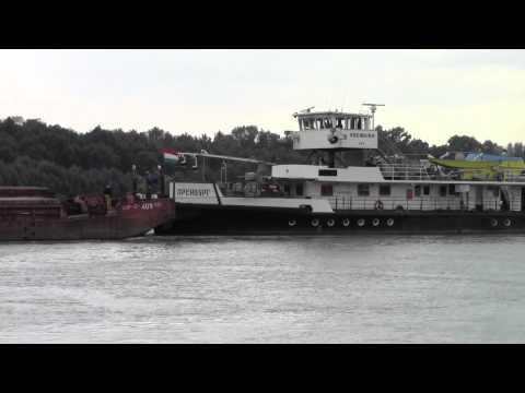 Towboat ORENBURG , Danube river 1630 km , 2012.sept.24.