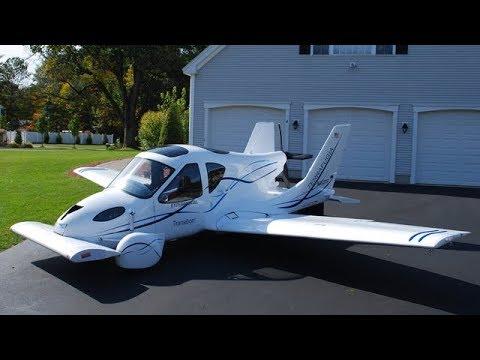 5 летающих автомобилей,