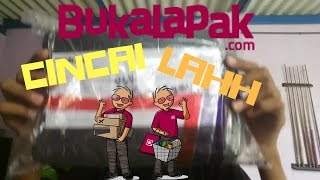 UNBOXING BARANG DARI BUKALAPAK+Celebration 50 SUBSCRIBER!!!