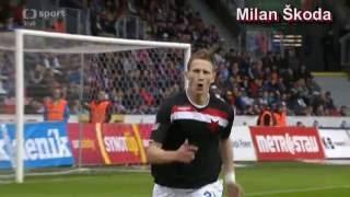 Slavia Praha - góly jaro 2013
