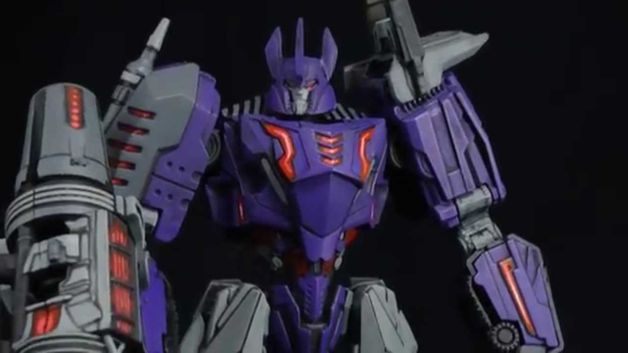 Transformers Wfc Custom Galvatron Youtube