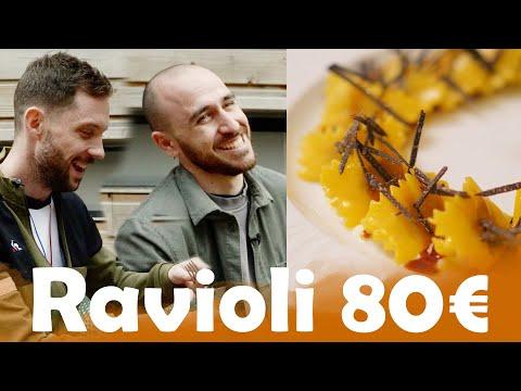 Ravioli à 1,65€ VS Ravioli à 80€ avec Anthony Lastella et Simone Zanoni ! - Morgan VS