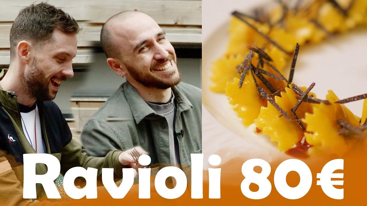Ravioli à 1,65€ VS Ravioli à 80€ avec Anthony Lastella et Simone Zanoni !