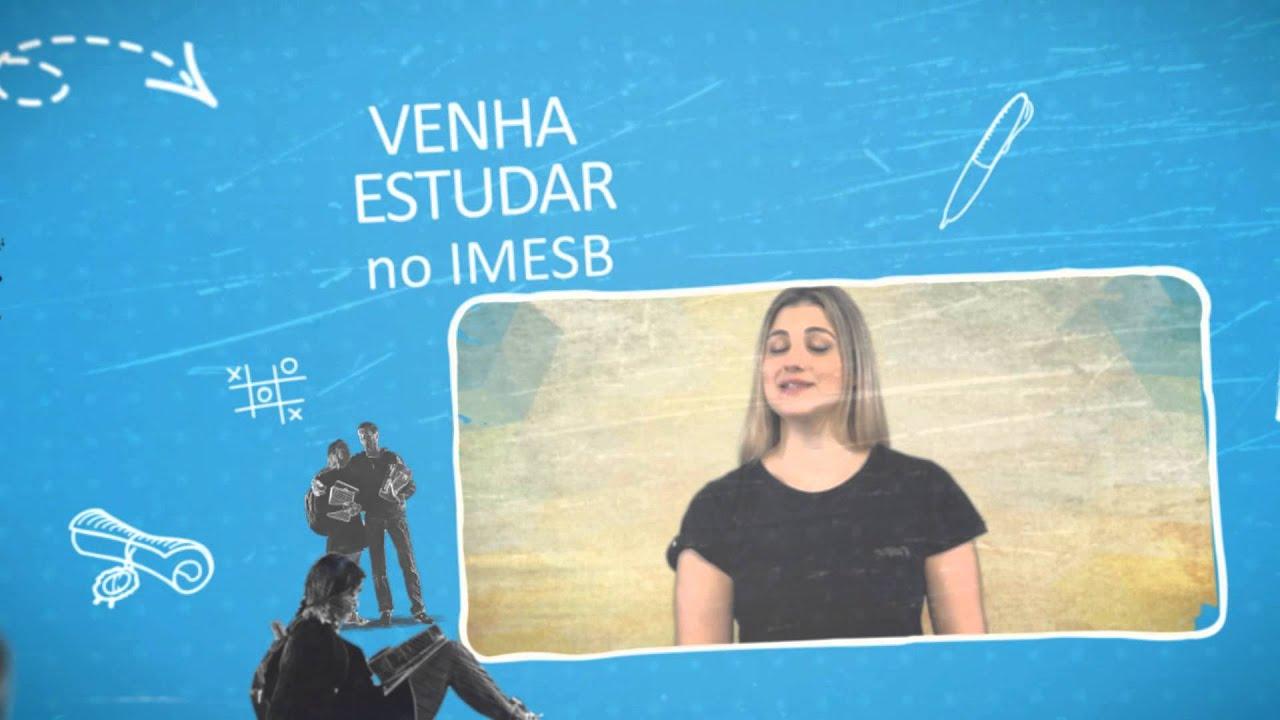 Gisele Alquas, ex-aluna de jornalismo - Vestibular IMESB 2015