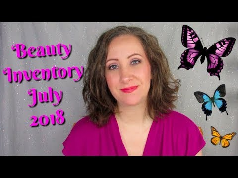 July 2018 Beauty Inventory Numbers  Jessica Lee