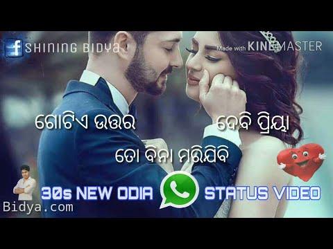 Tote kete bhala pauchhi mu pacharibu kebe jadi|| latest odia what's app || status video