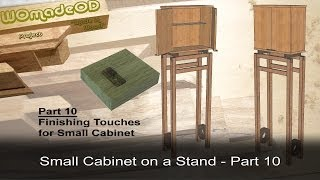 Cabinet Option And Ideas - Small Cabinet On A Stand - Part 10