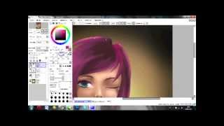 Drawing Tecna from Winx club in anime\real style