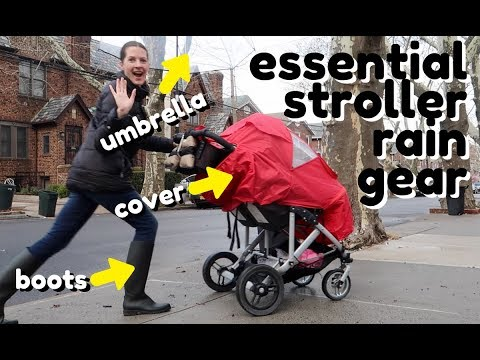 best-stroller-accessories-for-the-rain