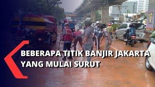Beberapa Titik Jakarta Yang Sempat Terkena Banjir, Kini Mulai Surut