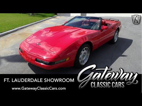 1992-chevrolet-corvette-convertible---gateway-classic-cars-of-ft.-lauderdale-#1121